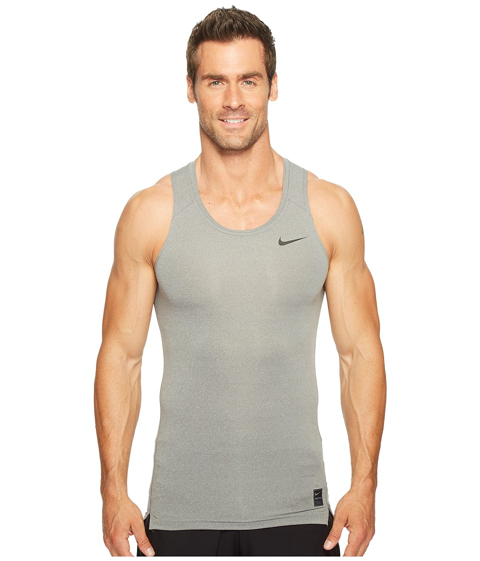 Nike - Pro Training Tank (Carbon Heather/Black/Black) Men's Sleeveless