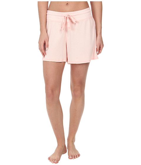 Dylan by True Grit - Solid Shorts (Pastel Pink) Women