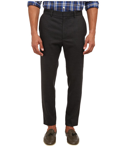 McQ - Peg Leg Trouser (Dark Grey Melange) Men's Casual Pants