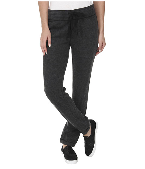 Dylan by True Grit - Solid Drawstring Pants (Vintage Black) Women's Casual Pants