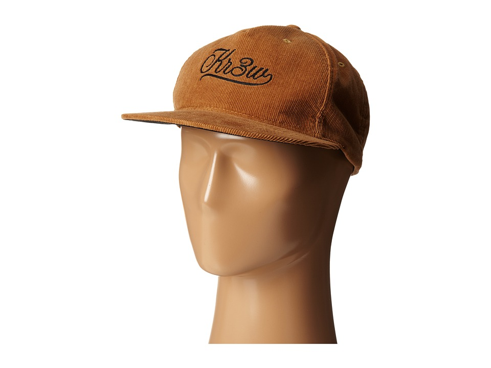 KR3W - Cutter Cord Snapback Hat (Antique Brass) Caps