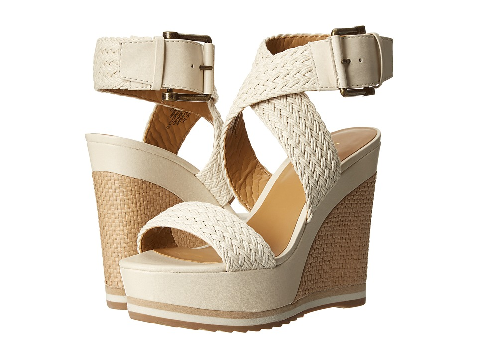 Nine West - Waldrid (Off White/Off White Fabric) Women