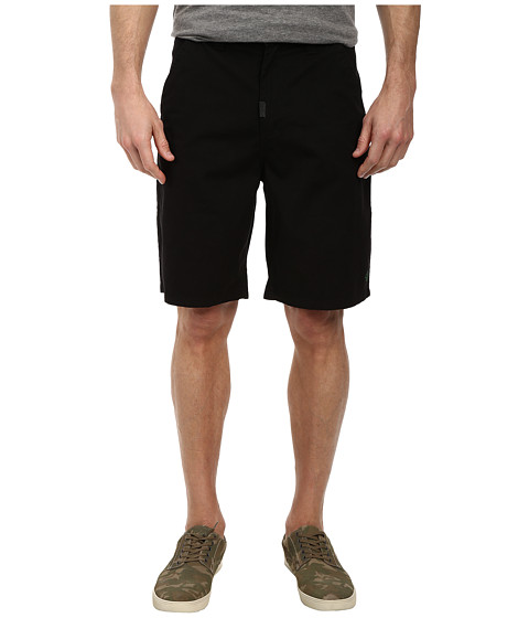 L-R-G - RC Marauder TS Chino Walkshorts (Black) Men's Shorts