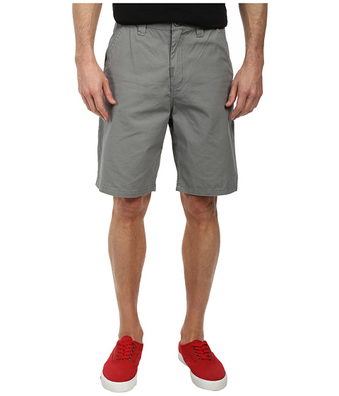 L-R-G - RC Marauder TS Chino Walkshorts (Graphite) Men's Shorts