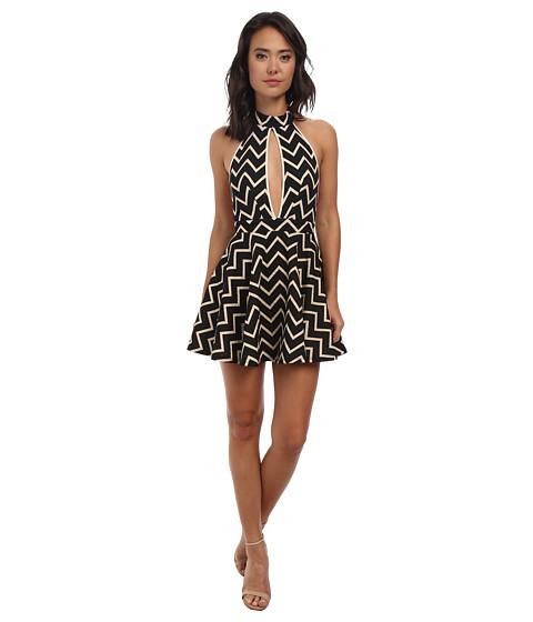 Gabriella Rocha - Eva Halter Dress (Taupe) Women's Dress
