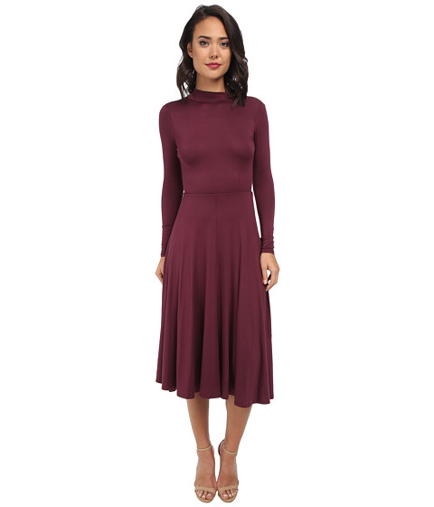 Gabriella Rocha - Cami Long Sleeve Maxi Dress (Wine) Women