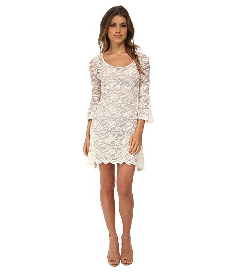 Gabriella Rocha - Chrissy Lace Dress (Ivory) Women's Dress