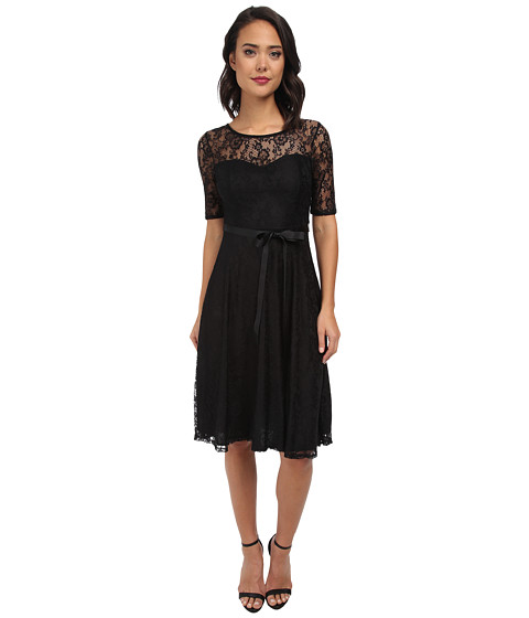 Gabriella Rocha - Kourtney Lace Dress (Black) Women's Dress