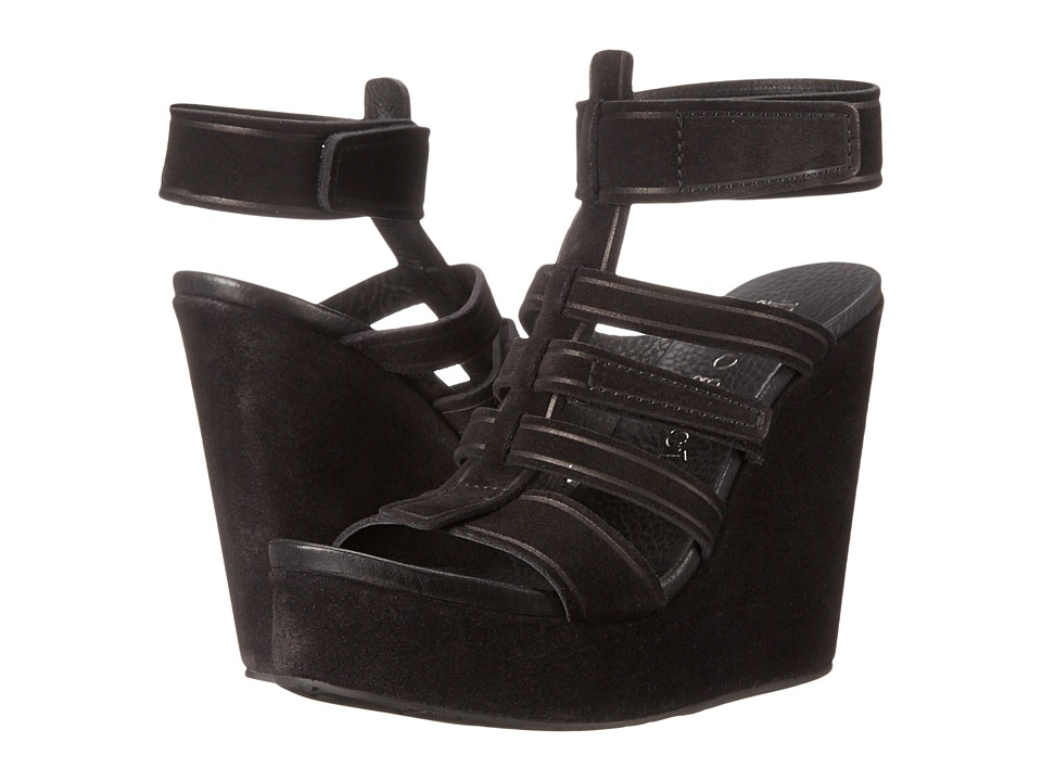 Pedro Garcia - Taylin-CO (Black Castoro) Women's Wedge Shoes