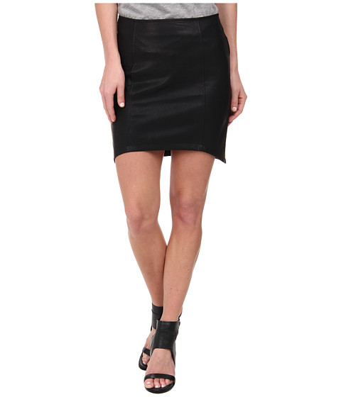 MINKPINK - Pu Skirt (Black) Women's Skirt