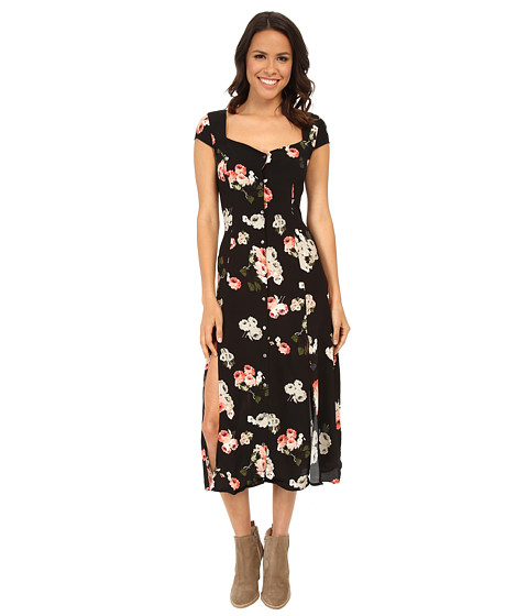 MINKPINK - Moon Flower Midi Dress (Multi) Women