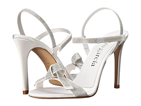 Pedro Garcia - Candice (Meringue Satin) High Heels