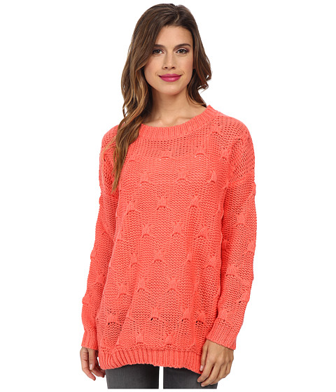 MINKPINK - Shake The World Jumper (Rose Pink) Women's Sweater