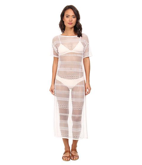 Gabriella Rocha - Bay Long Lace Cover-Up (White) Women's Clothing