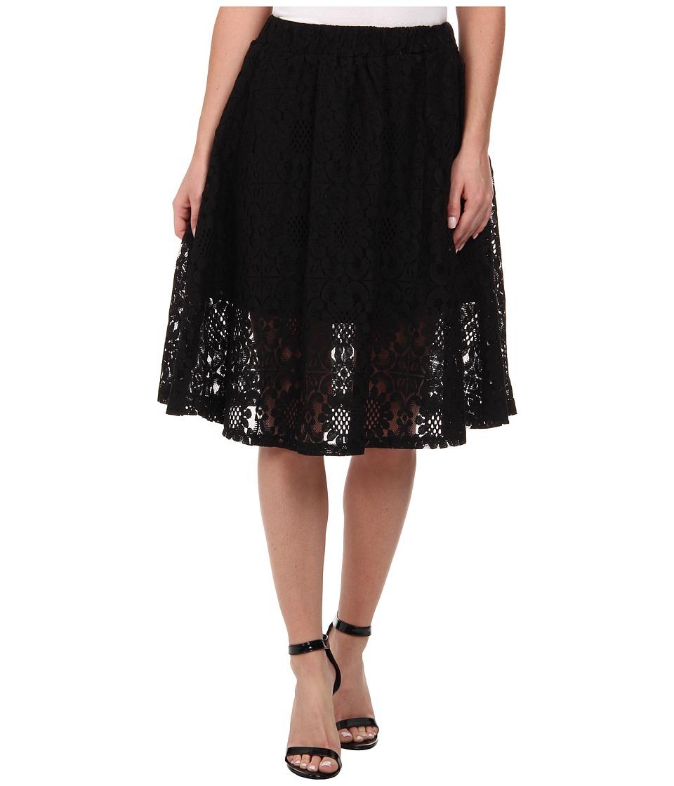 Gabriella Rocha - Arianna Lace Skirt (Black) Women's Skirt