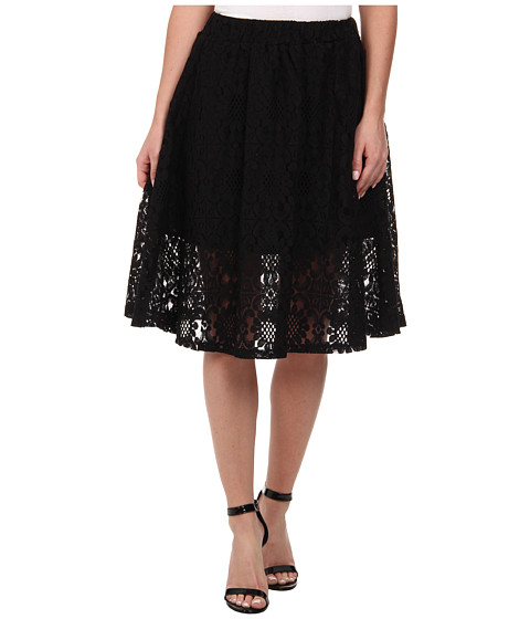 Gabriella Rocha - Arianna Lace Skirt (Black) Women