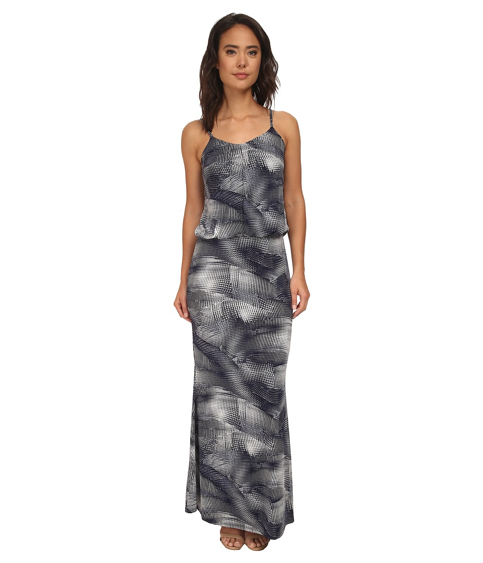 Brigitte Bailey - Esmay Spaghetti Dress Maxi Dress (Grey) Women's Dress