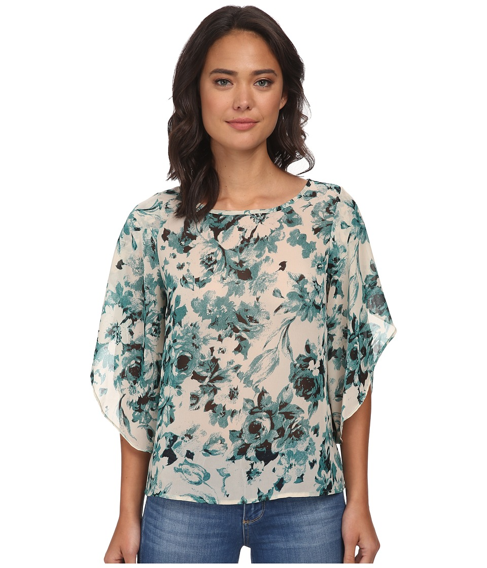 Brigitte Bailey - Shannon Chiffon Top (Green) Women