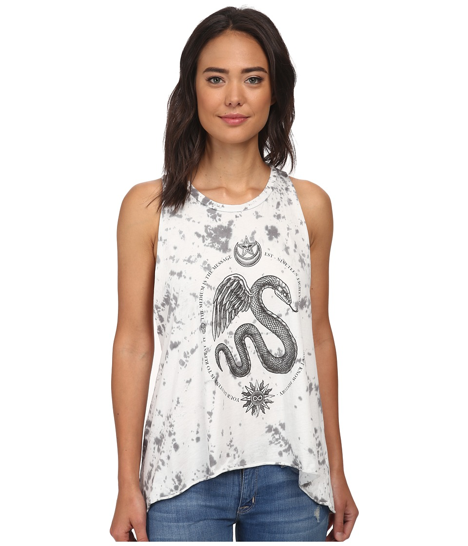 Obey - Winged Serpent (Graphite) Women's Sleeveless