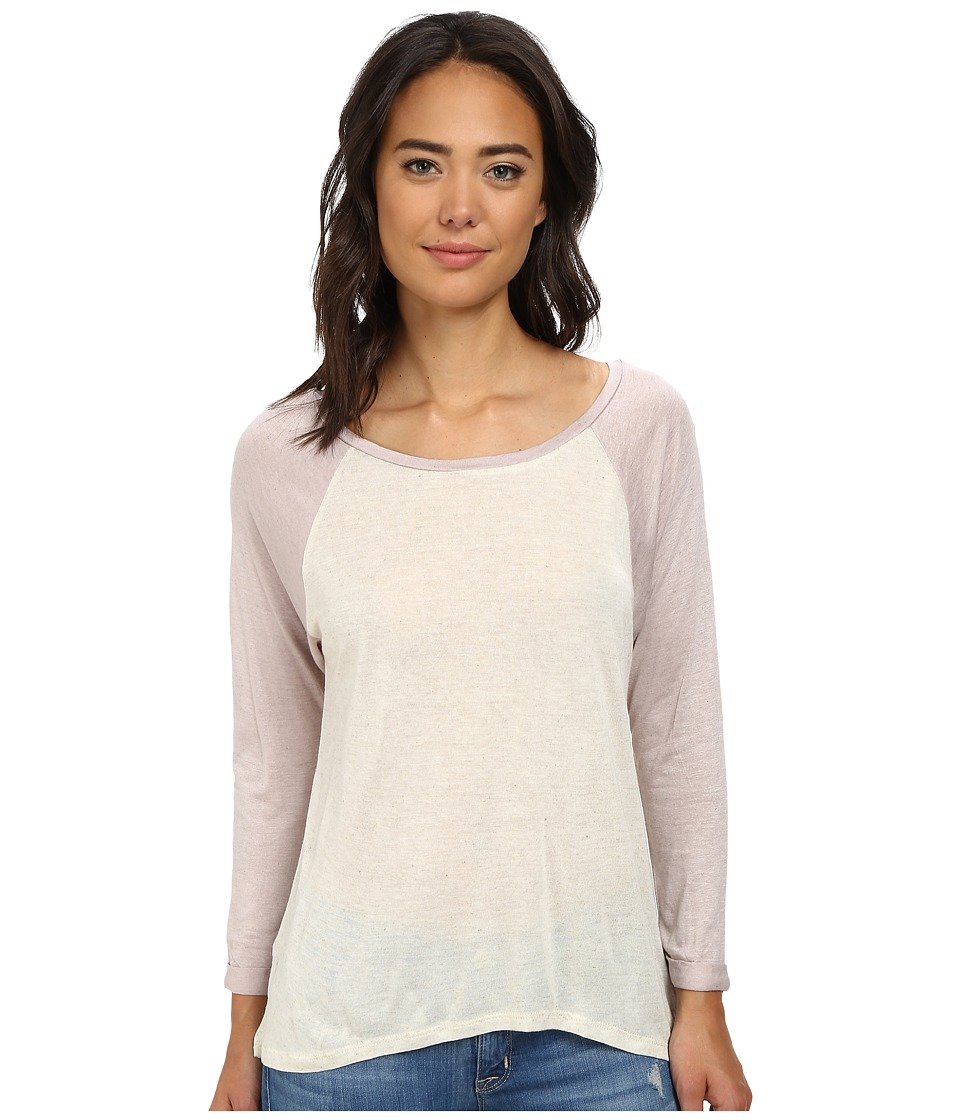 Obey - Elowen Raglan (Natural/Dusty Lilac) Women