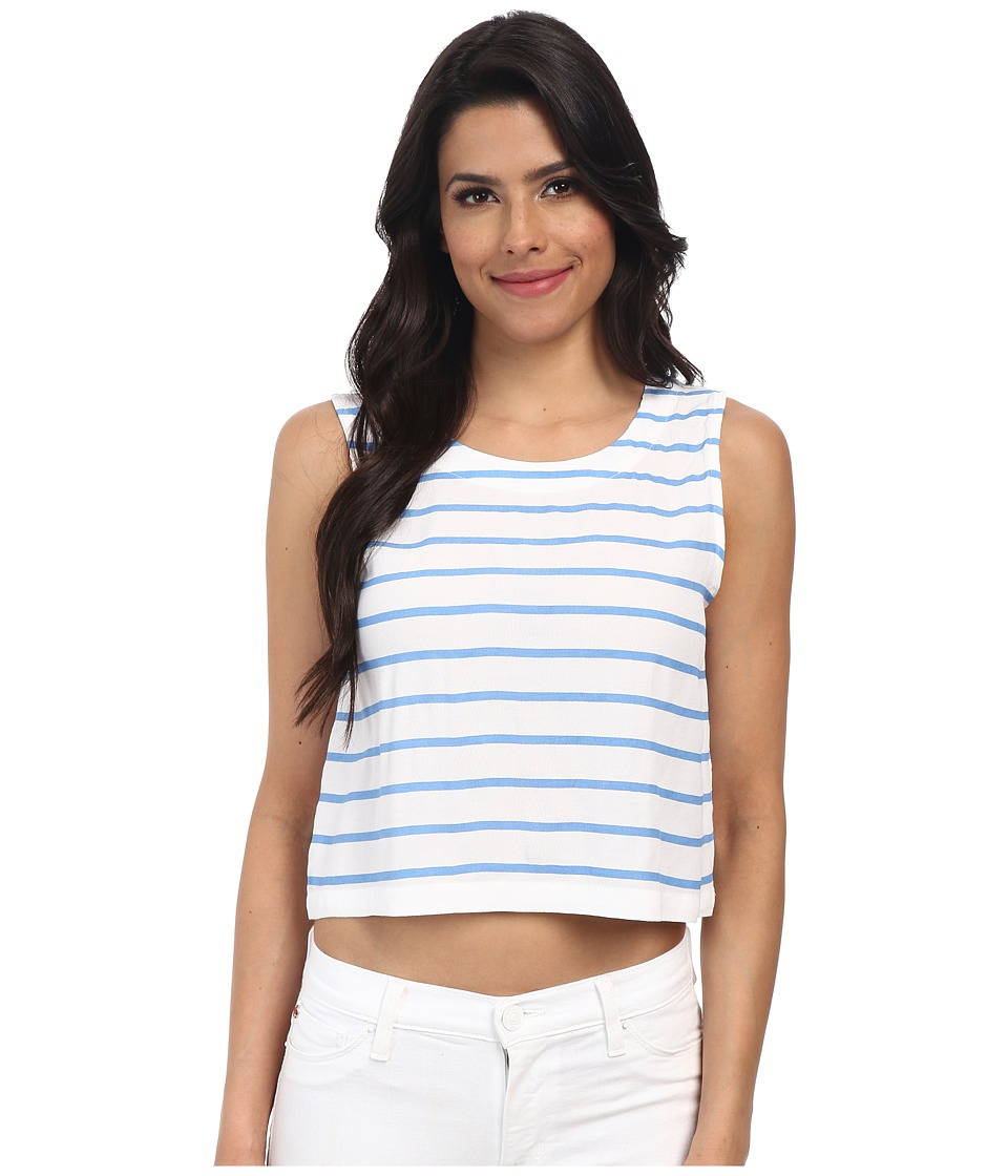 MINKPINK - From Paris with Love Tank Top (Jacrnd/White) Women's Sleeveless