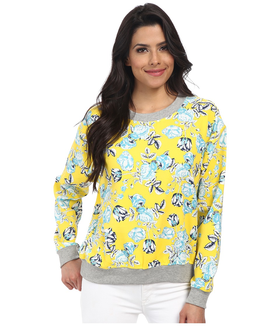 MINKPINK - Citrus Floral Jumper (Multi) Women's Long Sleeve Pullover