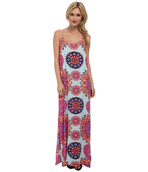 MINKPINK - Mandala Dreams Maxi Dress (Multi) Women