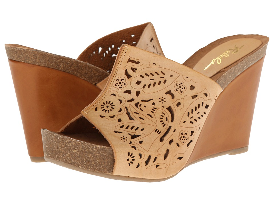 Rebels - Belinda (Natural) Women's Wedge Shoes