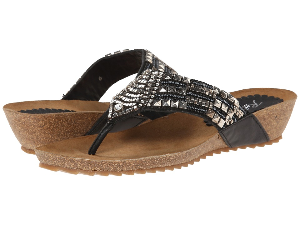 Rebels - Faun (Black) Women's Sandals