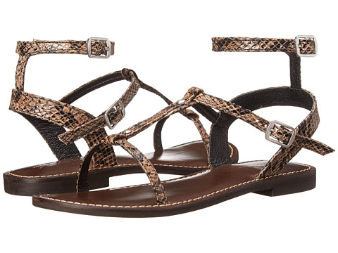 Rebels - Timmie (Black Snake) Women's Sandals