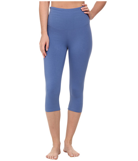 Yummie by Heather Thomson - Talia Capri (Denim Blue) Women