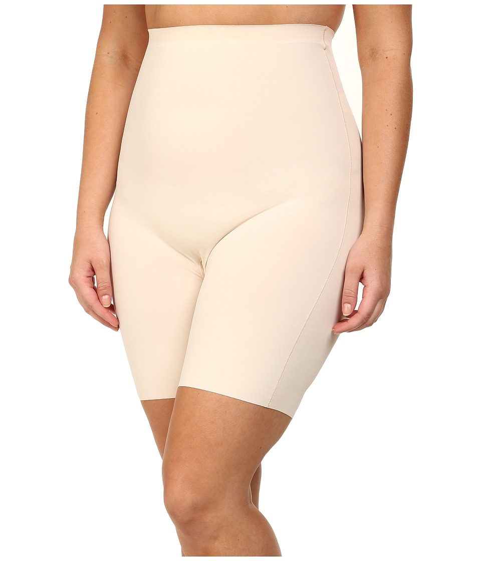 Yummie by Heather Thomson - Plus Size Florence High Waist Shorts (Nude) Women's Underwear