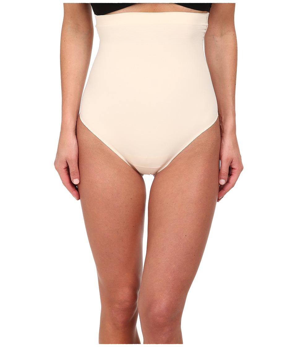 Yummie by Heather Thomson - Brill High Waist Thong (Nude) Women's Underwear