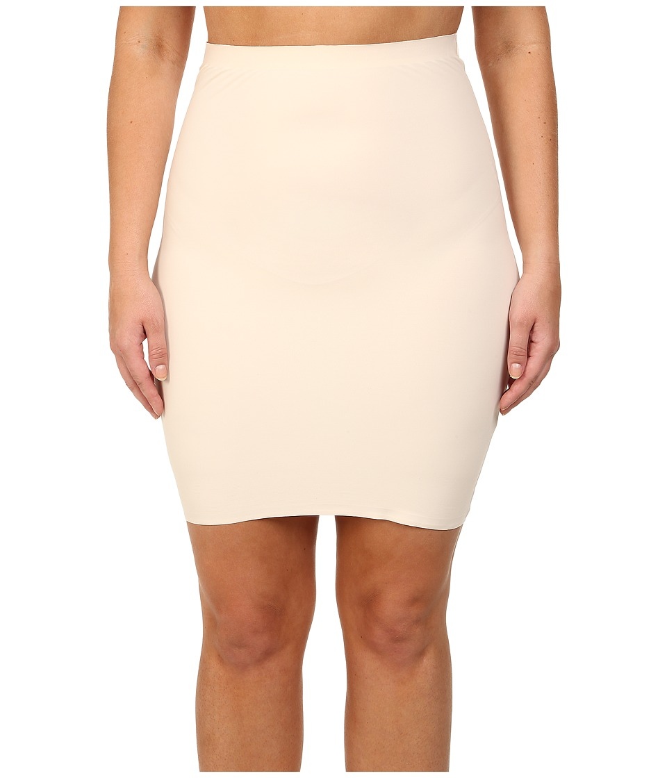 Yummie - Plus Size Yulia Skirt Slip (Nude) Women's Lingerie