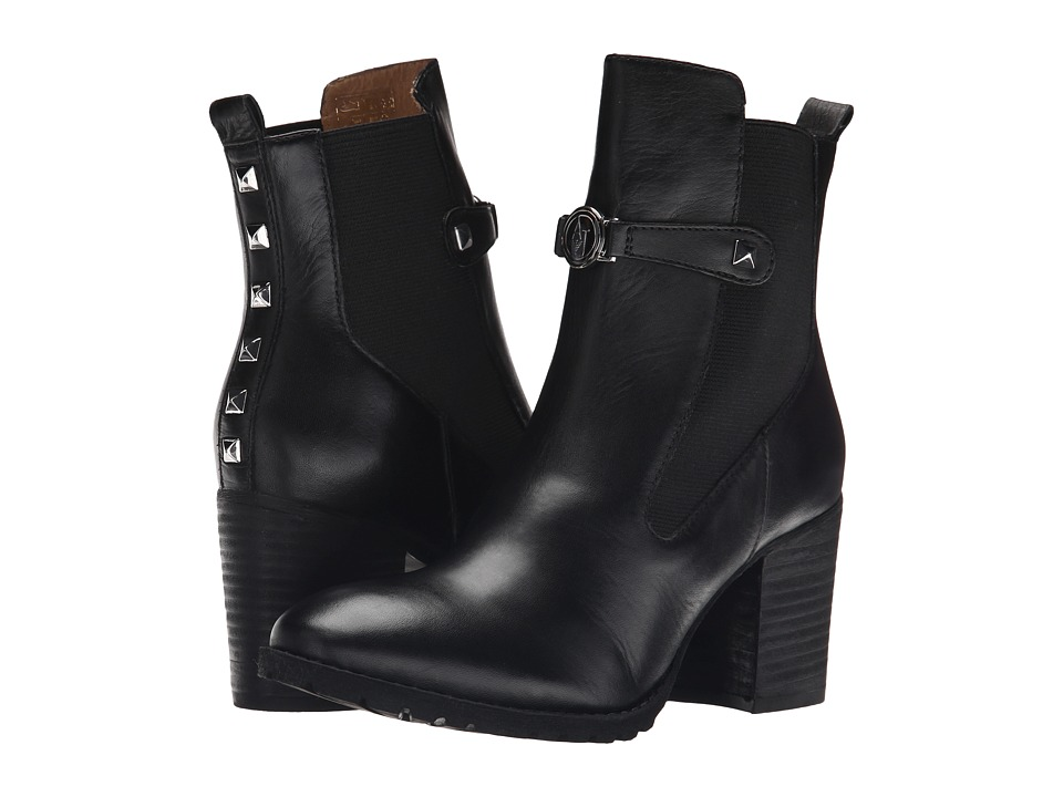 Armani Jeans - Stud Boot (Black) Women's Pull-on Boots