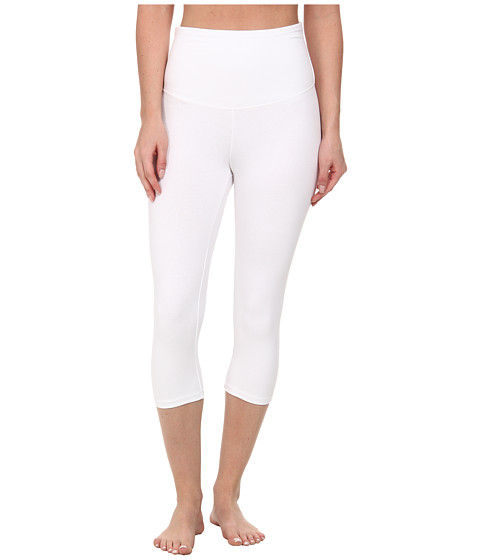 Yummie by Heather Thomson - Talia Capri (White) Women