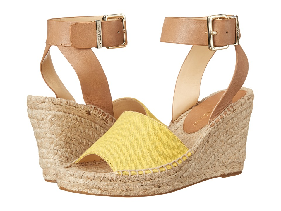 Ivanka Trump - Dalinda (Yellow) Women's Wedge Shoes