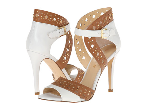 Ivanka Trump - Dapoli (Rustic Tan/White) High Heels