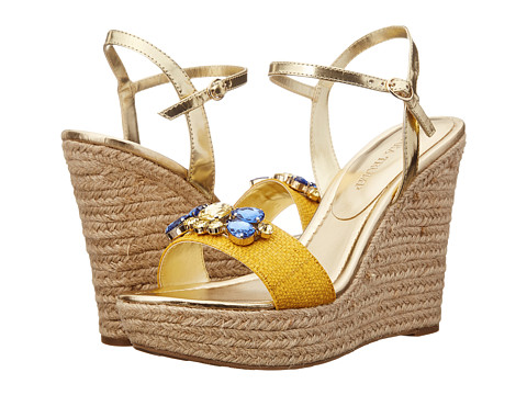 Ivanka Trump - Hasco (Yellow) Women's Wedge Shoes
