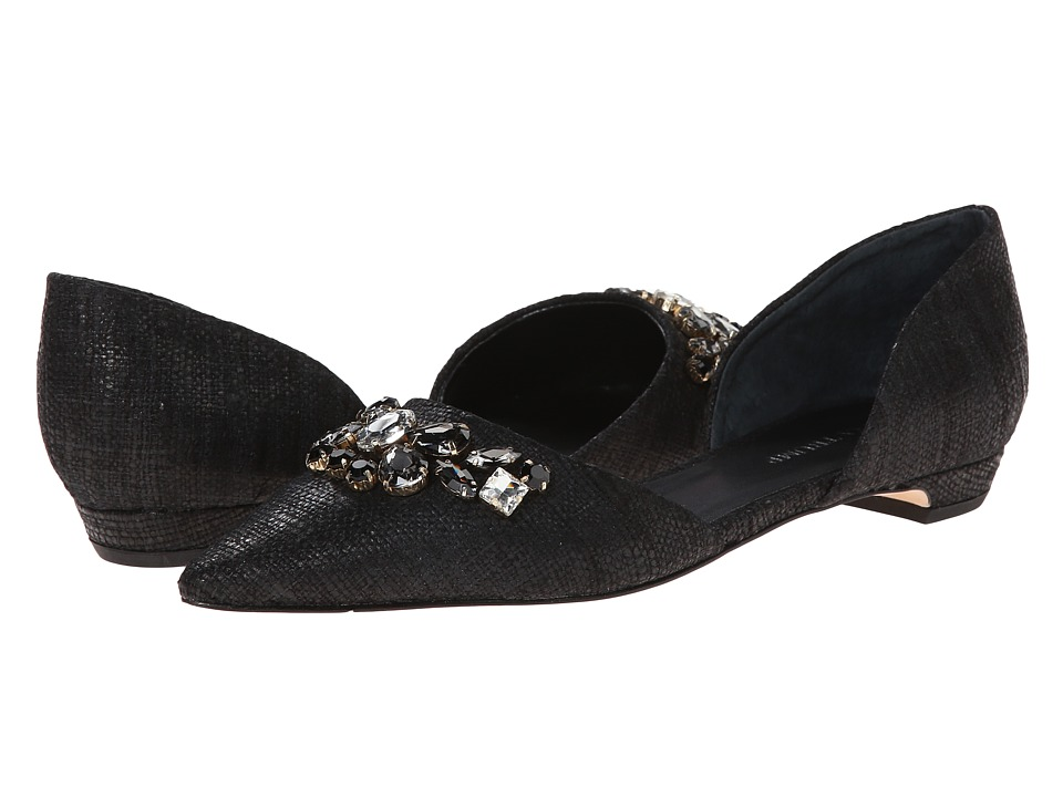 Ivanka Trump - Tadora (Black) Women's Dress Flat Shoes