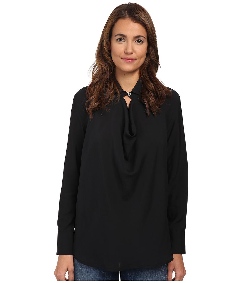 Vivienne Westwood - Drape Shirt (Black) Women's Clothing
