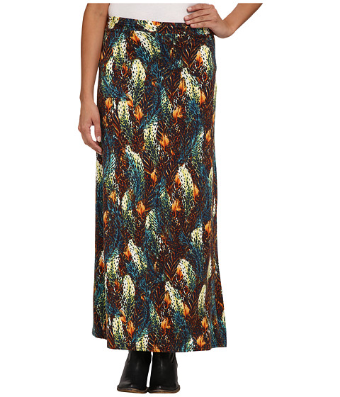 Ariat - Feathered Out Skirt (Multi) Women's Skirt