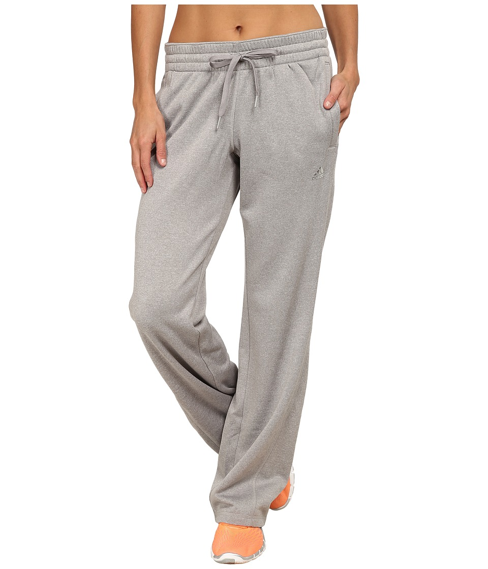 adidas - Ultimate Fleece Pants (MGH Solid Grey) Women's Workout
