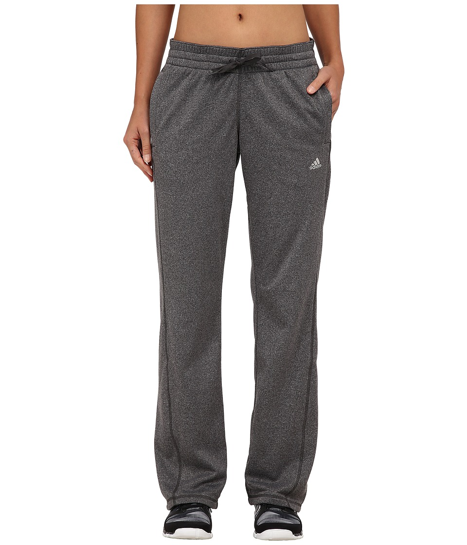adidas - Ultimate Fleece Pants (DGH Solid Grey) Women's Workout