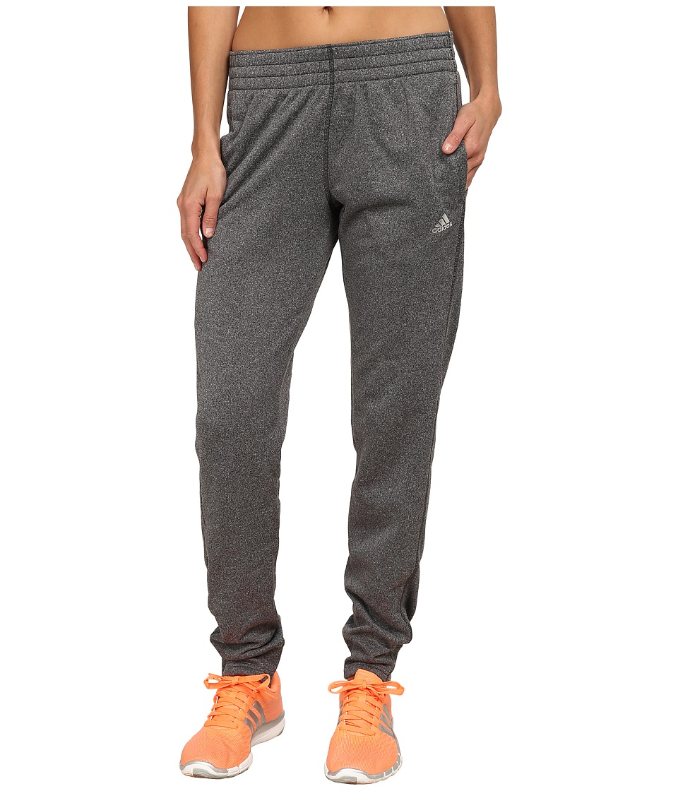 adidas - Ultimate Fleece Tapered Pants (DGH Solid Grey) Women's Workout