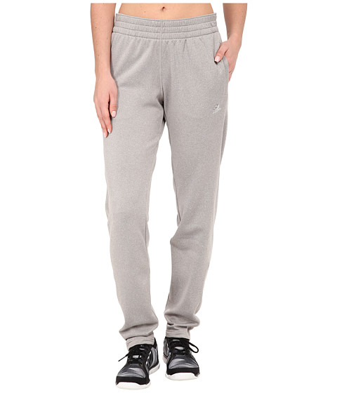 adidas - Ultimate Fleece Tapered Pants (MGH Solid Grey) Women's Workout