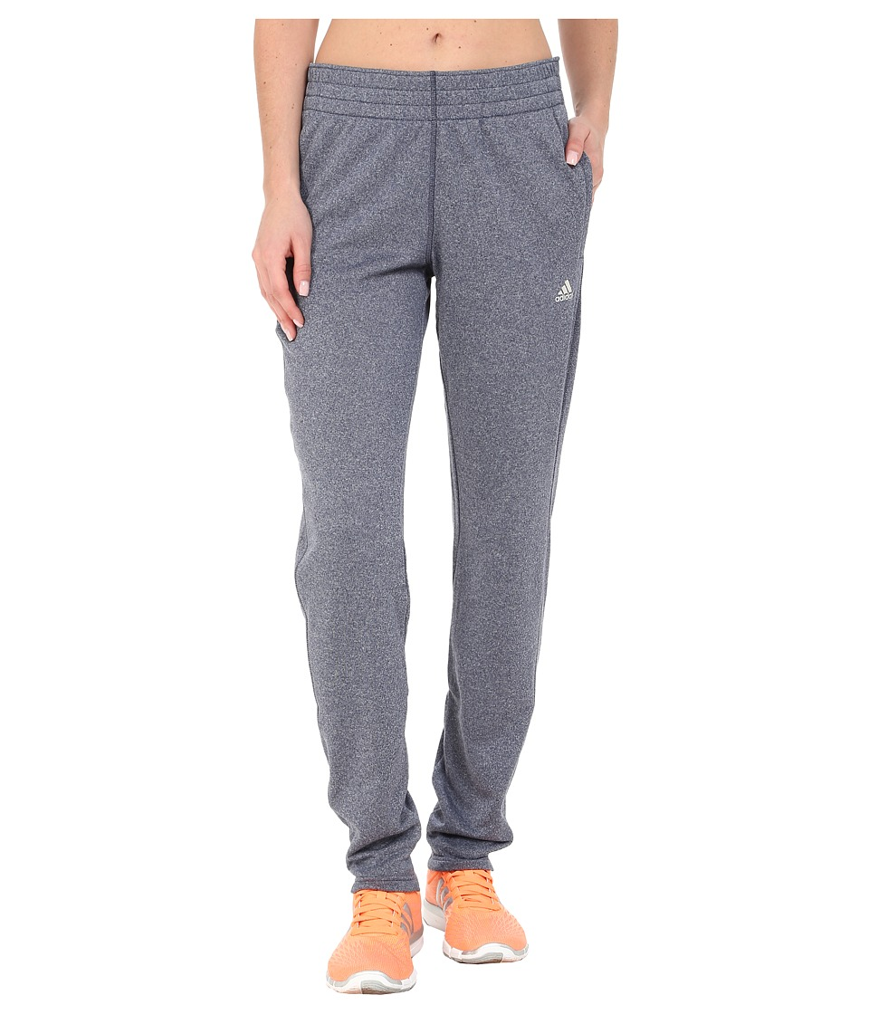 adidas - Ultimate Fleece Tapered Pants (Midnight Grey) Women's Workout