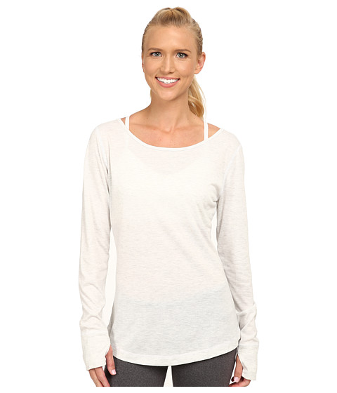 adidas - Keyhole Cover-Up (White) Women