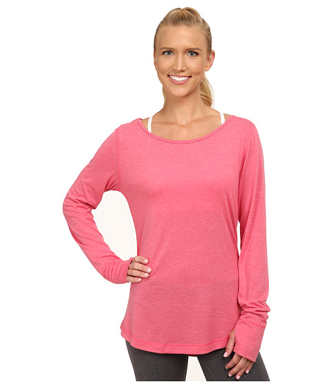adidas - Keyhole Cover-Up (Super Pink/Matte Silver) Women