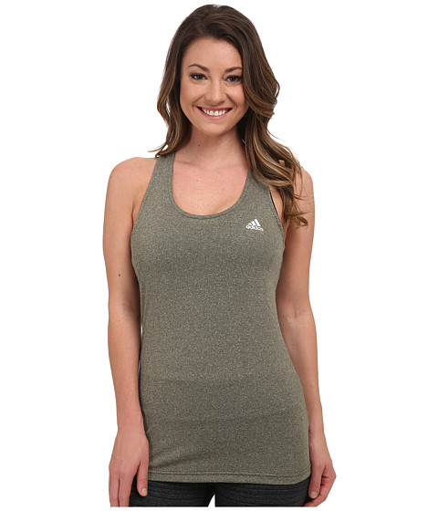 adidas - Derby Tank (Night Cargo Heather/Matte Silver) Women's Sleeveless
